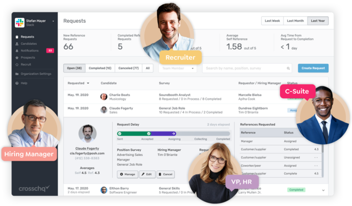 See how Crosschq can easily increase your Quality of Hires through your full employee lifecycle.